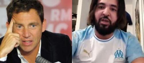 Riolo clashe Momo Henni en direct sur RMC, la réponse du youtubeur régale ses fans Photo Montage