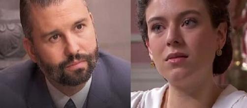 Una vita, spoiler spagnoli: Felipe e Genoveva si alleano per salvare Natalia.