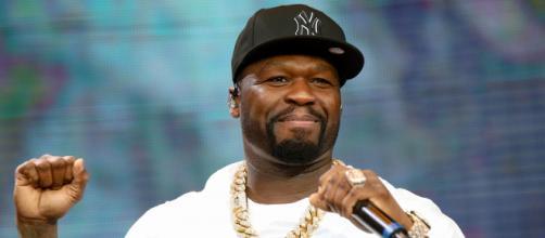 50 Cent é um dos famosos que apoiam Trump. (Arquivo Blasting News)