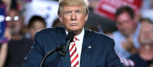 Donald Trump em campanha eleitoral. (Reprodução/Wikimedia Commons)