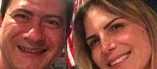 Ex-mulher de Tom Veiga revela que planejava reconciliação com Tom Veiga. (Arquivo Pessoal)