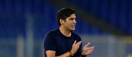 L'allenatore della Roma, Paulo Fonseca.