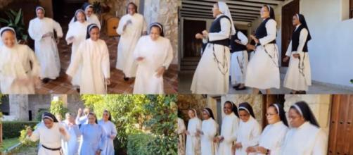 Las hermanas de clausura de Trujillo se sumaron al JerusalemaChallenge, el góspel llegado de Sudafrica.