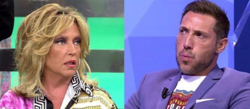 Lydia Lozano y Antonio David han protagonizado un duro enfrentamiento