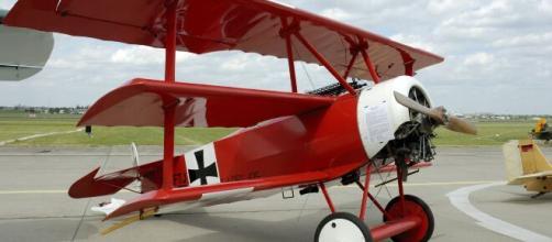 Réplica do Fokker utilizado pelo Barão Vermelho. (Reprodução/Wikipedia)