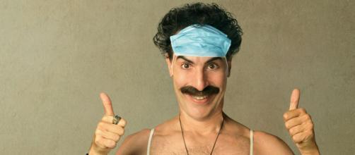 'Borat 2' estreou no final de outubro. (Reprodução/Amazon Prime)