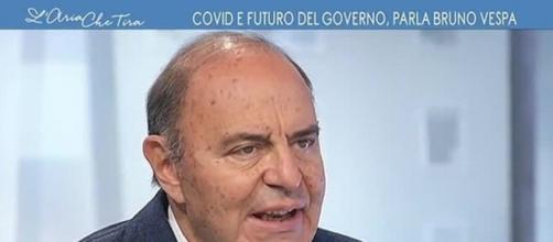 Bruno Vespa critica l'ultimo Dpcm firmato da Conte.