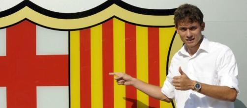 Keirrison até assinou com o Barcelona, mas nunca atuou pelo clube. (Arquivo Blasting News)