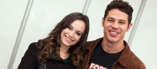 Marcella Valente atuou ao lado de José Loreto em 'Haja Coração'. (Reprodução/TV Globo)