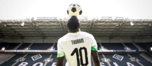 Marcus Thuram, punta del Borussia Moenchengladbach.