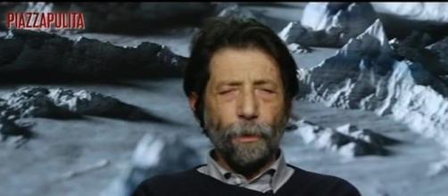 Massimo Cacciari ospite di Piazzapulita.