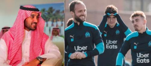 Vente OM : après l'échec Newcastle, Abdulaziz bin Turki cherche de meilleures opportunités. Credit: Twitter capture/OM Instagram