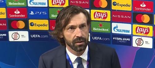 Andrea Pirlo, allenatore della Juventus.
