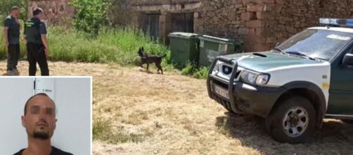 Dos agentes de la Guardia Civil resultaron heridos durante la detención del 'Rambo de Requena'.