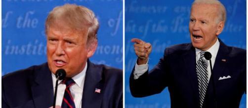 'Joe Biden' vs 'Donald Trump' : Entre le signe de la victoire et défaite