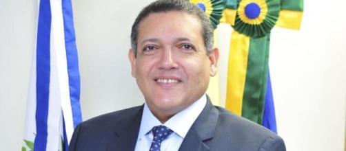 Luiz Fux elogia Nunes Marques durante posse no Supremo. (Arquivo Blasting News)
