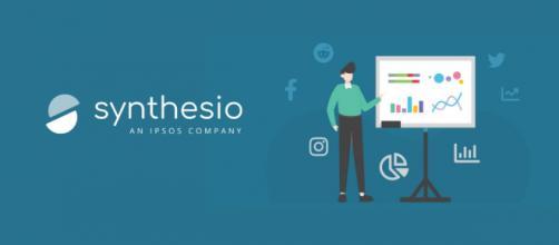 Synthesio propose des solutions d'écoute pour les entreprises et leur permet de comprendre ce que pensent les consommateurs, Source : Synthesio