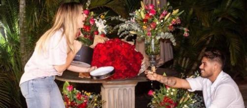 Zé Felipe pede Virgínia Fonseca em casamento. (Reprodução/YouTube)