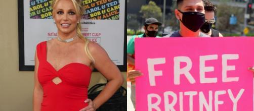 Britney Spears busca desvincularse de su padre