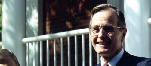 George H. W. Bush não conseguiu se eleger. (Reprodução/Wikimedia)