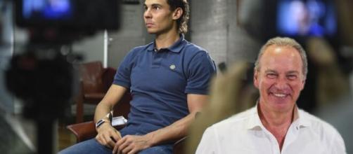Rafa Nadal y Berlín Osborne en una imagen compuesta.