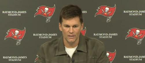 Brady completed just 22 of 38 passes for 209 yards (Image Credit: Tampa Bay Buccaneers/YouTube)
