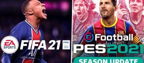 Fifa21 senza la Juventus in campo vs Pes 2021 update, prezzi a partire da 39,99 euro.