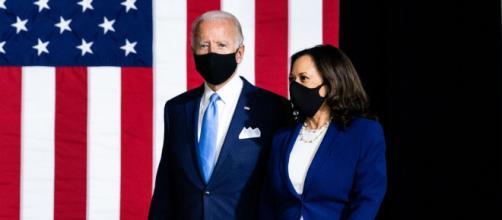 Joe Biden junto a Kamala Harris en su primer discurso como ganadores de las elecciones.