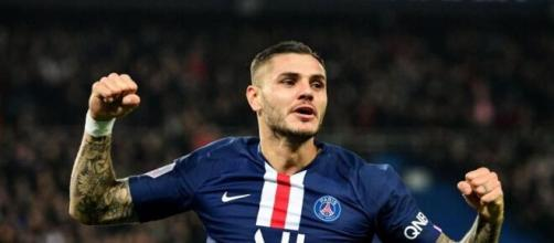 Mauro Icardi, punta del Paris Saint Germain.