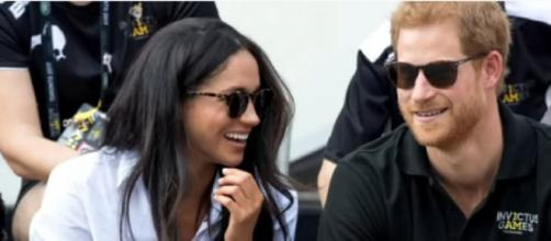 Meghan Markle and Prince Harry return to the Invictus Games. [Image source/Good Morning America YouTube video]