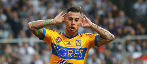 O atacante chileno Eduardo Vargas é mais um reforço estrangeiro do Atlético. (Arquivo Blasting News)