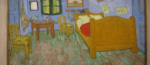 Some find Van Gogh's 'The Bedroom' calming to gaze upon. [Image Source: gundust/Flickr]