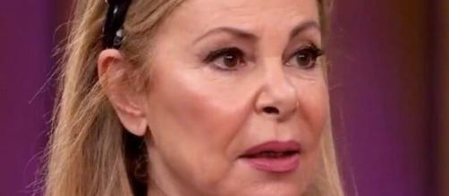 Ana Obregón en imagen de televisión.
