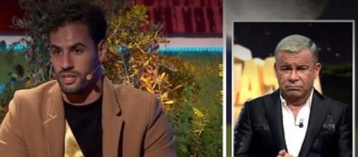 Asraf Beno carga contra Jorge Javier Vázquez en 'La casa fuerte'