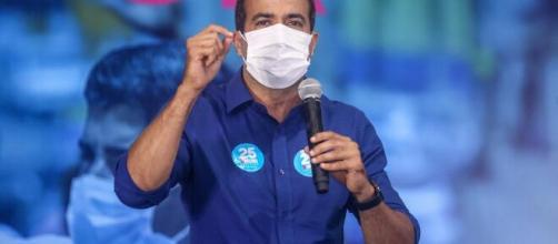 Bruno Reis do DEM, se elegeu prefeito de Salvador, ainda no primeiro turno.