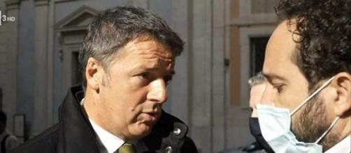 Duro botta e risposta tra Matteo Renzi e un inviato di Report.