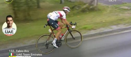 Fabio Aru al Tour de France, ultima corsa con la UAE Emirates