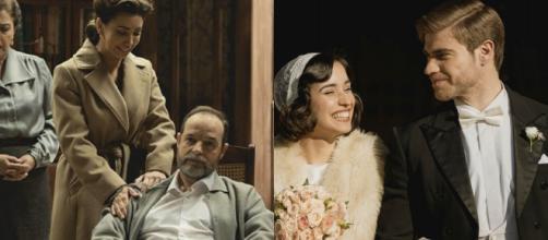 Il Segreto, spoiler all'11 dicembre: Rosa sposa Adolfo, Emilia torna a Puente Viejo.