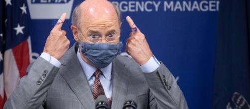 Pennsylvania governor tests positive for coronavirus lasting (© CN/Youtube)