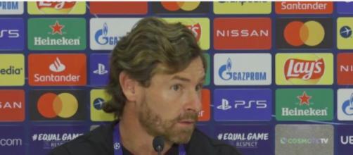 André Villas-Boas tacle un journaliste après le match de l'OM - ©capture d'écran vidéo conférence de presse
