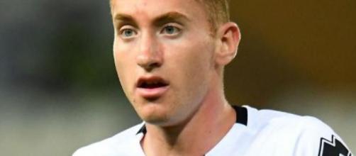 Dejan Kulusevski, centrocampista offensivo della Juventus.