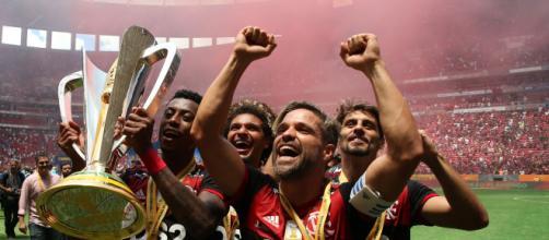 Flamengo lidera a lista com o time mais valioso do futebol brasileiro. (Arquivo Blasting News)