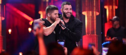 Gusttavo Lima e Zé Felipe anunciam nova parceria. (Arquivo Blasting News)