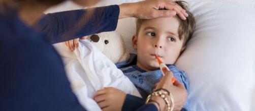 La gripe durante el invierno es un malestar común entre los niños, es necesario protegerlos más durante esta época del año.
