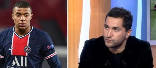 Nabil Djellit se moque de 'Dario Mbappé' et met en colère les fans du PSG. ©montage