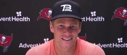 Brady is trying to lead Bucs to the postseason (©Tampa Bay Buccaneers/YouTube)