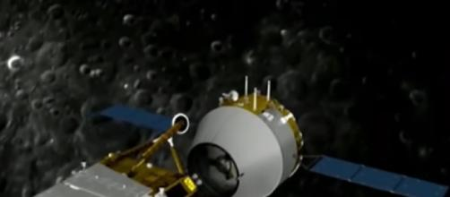 China moon mission: Chang'e-5 to bring rocks back from the moon. [©/DW News YouTube video]