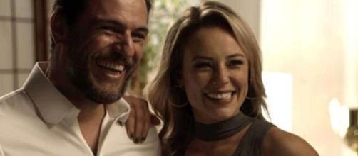 Jeiza e Caio em 'A Força do Querer'. (Reprodução/ TV Globo)