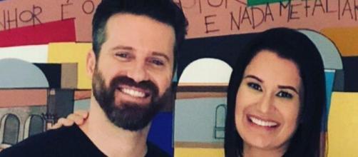 Marlon e Letícia já participaram de reality de casais na RecordTV. (Arquivo Blasting News)
