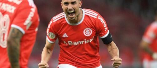 Mesmo sem marcar gols desde a saída de Coudet, Galhardo segue como artilheiro do Brasileirão 2020. (Arquivo Blasting News)